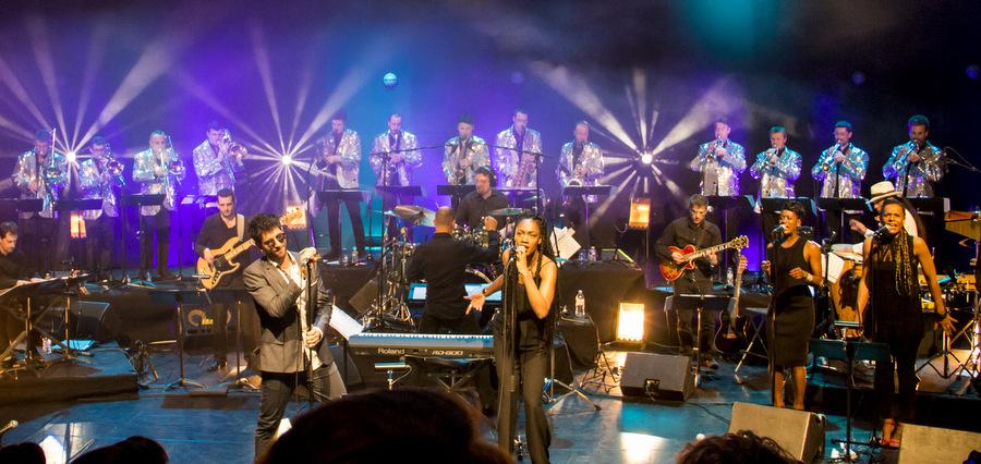 Concert dédicace à Stevie Wonder