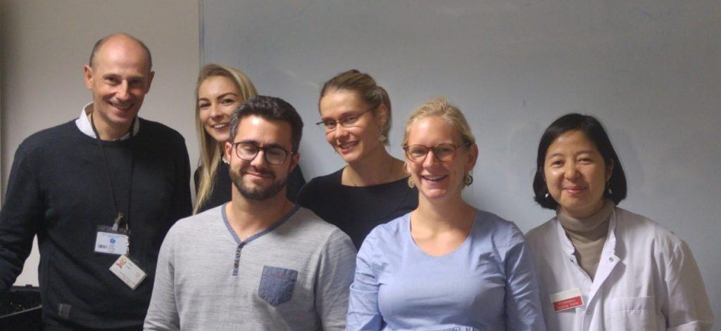 Equipe Projet, dont Pr Sophie Park, Dr David Laurin, Dr Audrey Legouellec