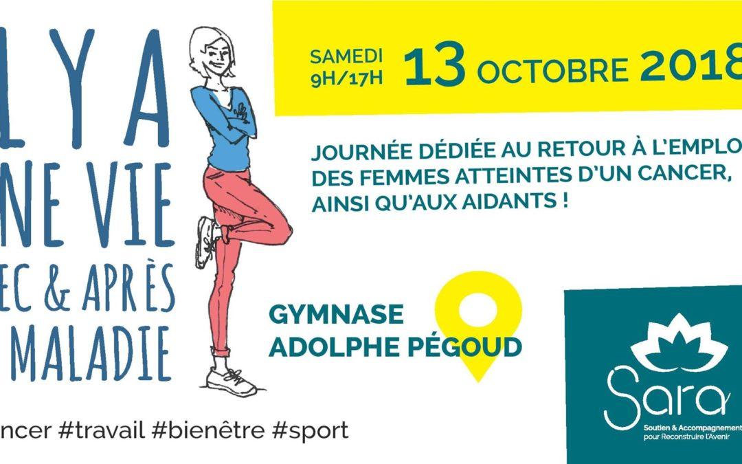 Vivre avec et après la maladie – c est possible – Journée évènement le 13 octobre à Grenoble