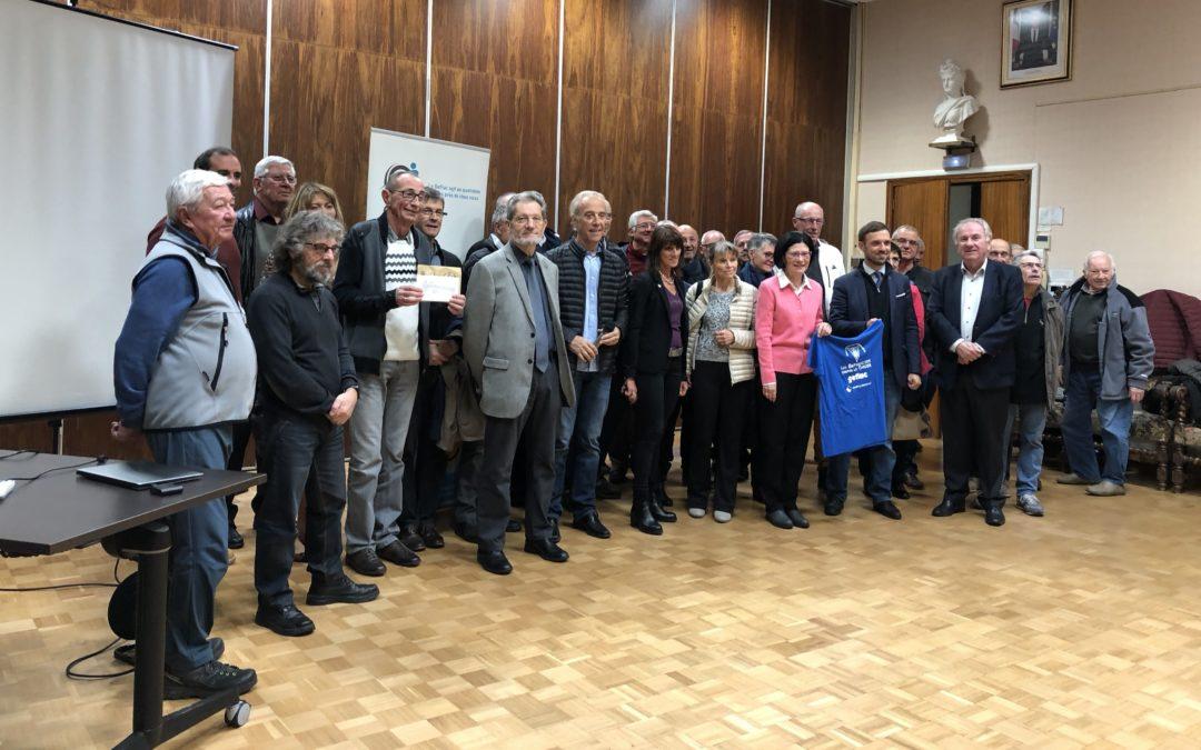 Randonnée de l Espoir 2018 – Le Gefluc reçoit un chèque de 6841 Euros