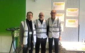 Jean-Pierre Gillet, Jean-Yves Berthonnier et Claude Veyron