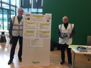 Jean Kieffer et Renaud Antoine, tous 2 membres du Gefluc Grenoble